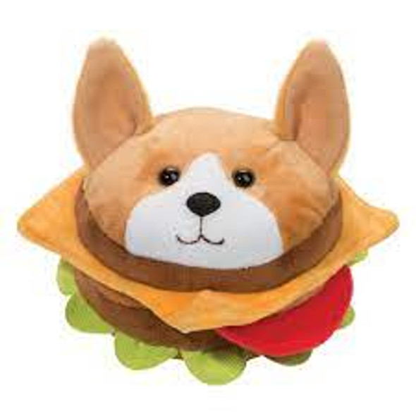 Corgi Burger Plush