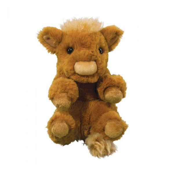 Highland Cow Lil' Handful Plush