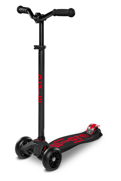 Maxi Deluxe Scooter - Black/Red
