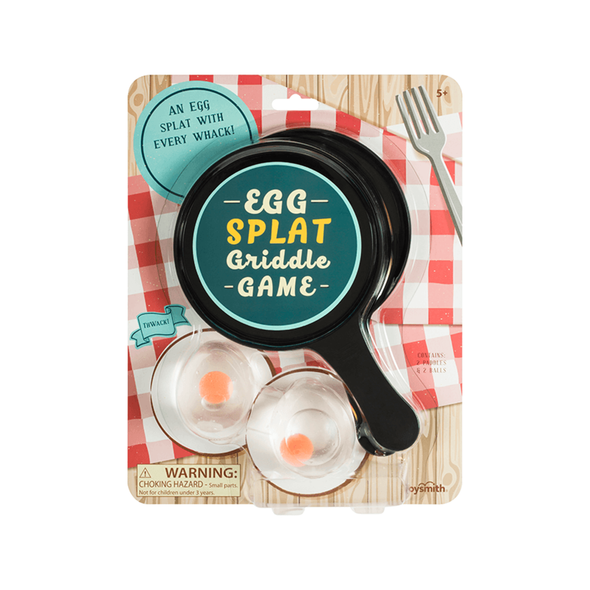 Egg Splat Griddle Game