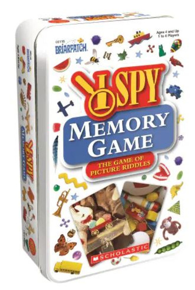 I Spy Memory Travel Tin