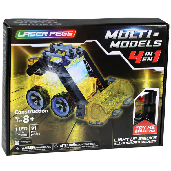 Laser Pegs 4 in 1 Mini Construction Set