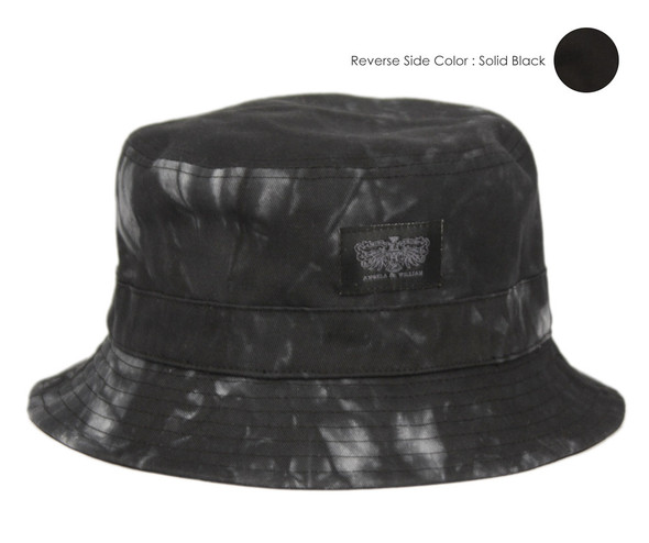 Black/Tie Dye Bucket Hat