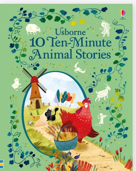 Ten Minute Animal Stories Book