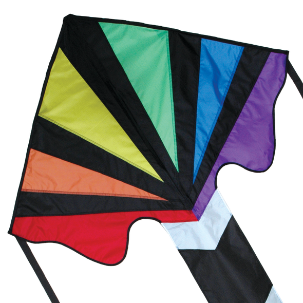 Rainbow Fountain Large Easy Flyer Kite