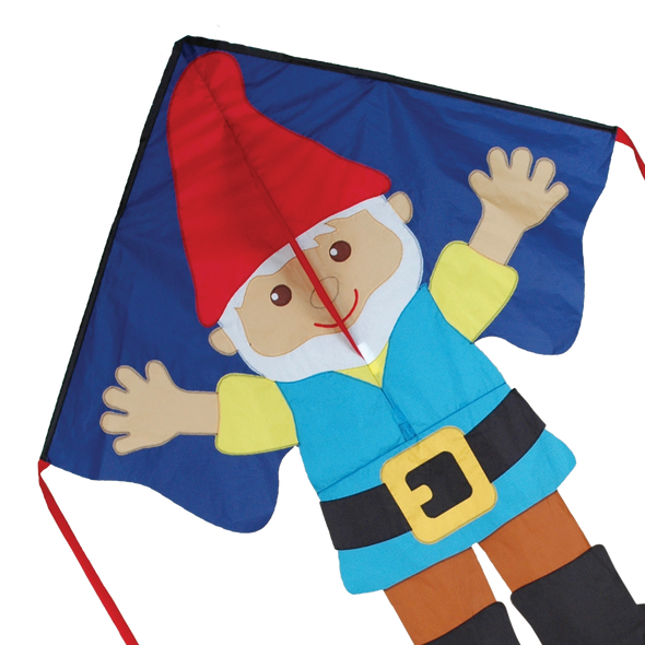Gnome Large Easy Flyer Kite