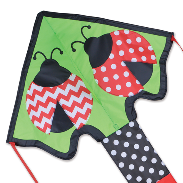 Lively Ladybugs Large Easy Flyer Kite