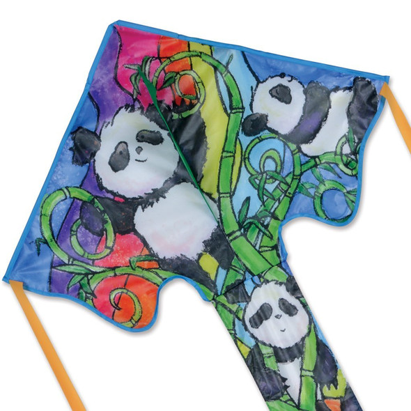 Pandas Large Easy Flyer Kite