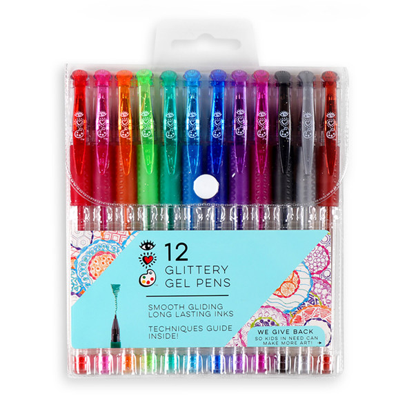Glittery Gel Pens