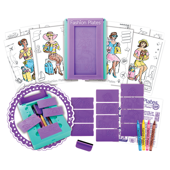 Fashion Plates Travel Collection