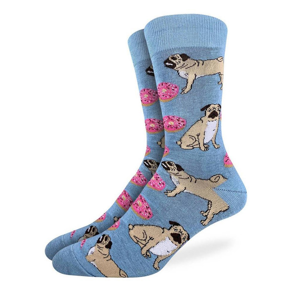 Pugs & Donuts Small Socks