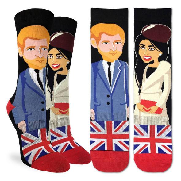 Prince Harry & Megan Small Socks