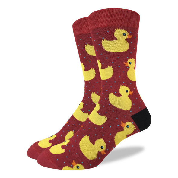 Rubber Duck X-Large Socks
