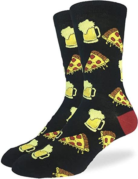 Pizza & Beer X-Large Socks