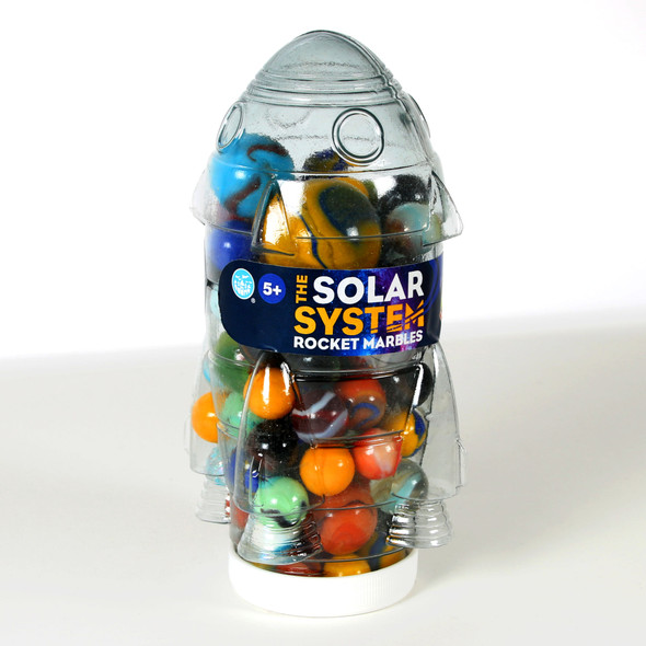The Solar System Rocket Marbles