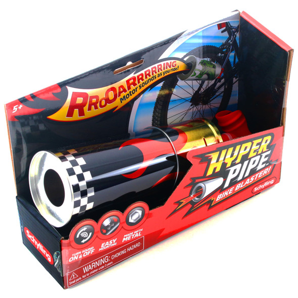 Hyper Pipe - Red Flame