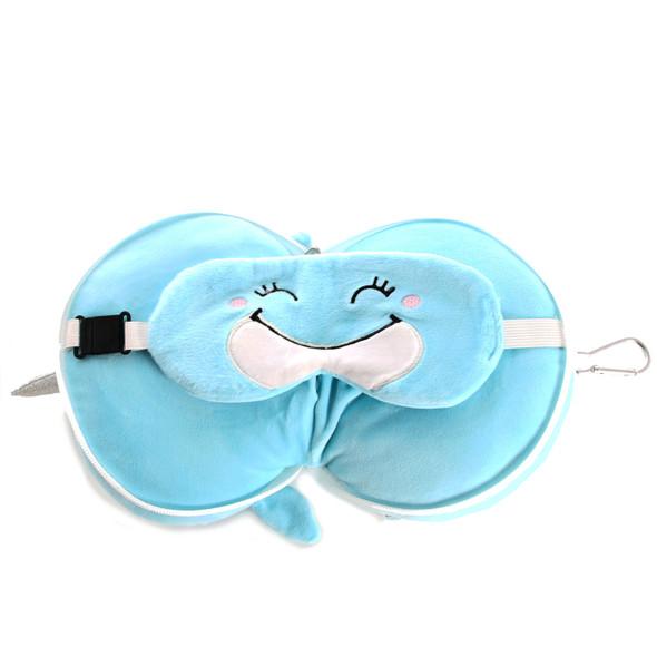 Narwhal Pillow/Eye Plush