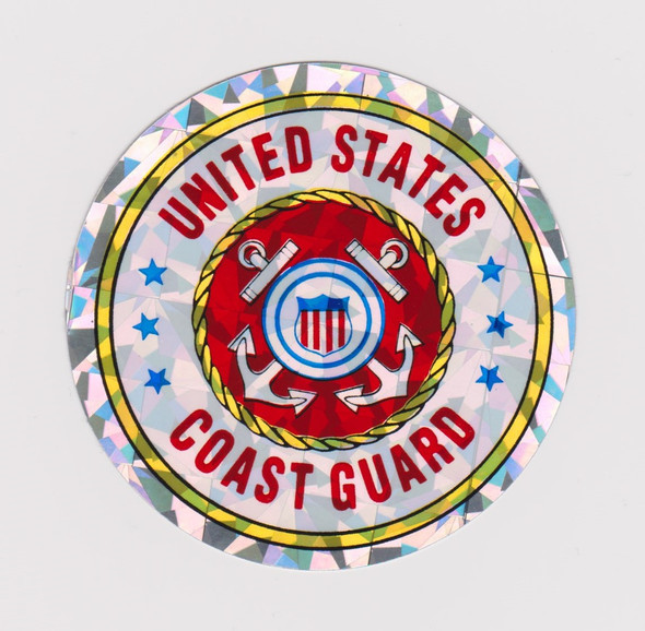 US Coast Guard Emblem Sticker