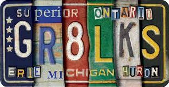 GR8LKS License Plate Magnet