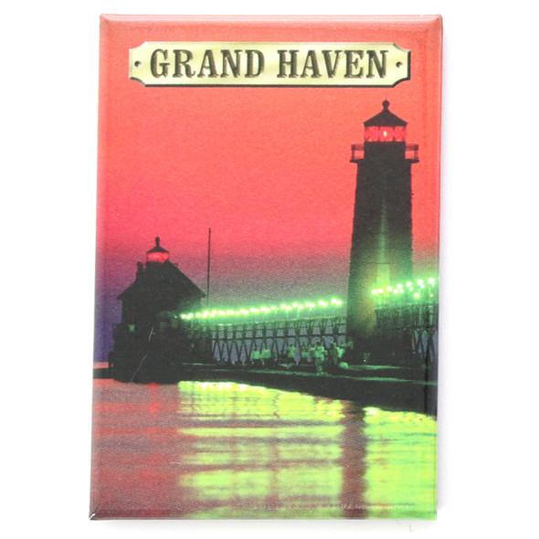 Grand Haven Lighthouse Magnet