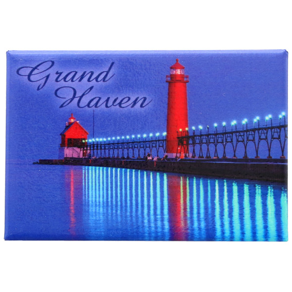 Grand Haven Waterfront Magnet