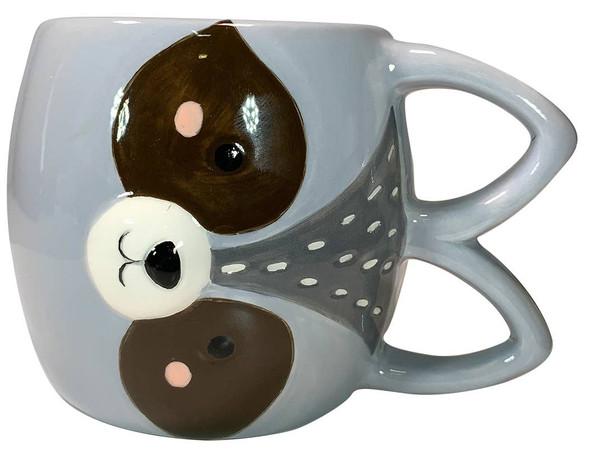 Raccoon Woodland Sideway Mug