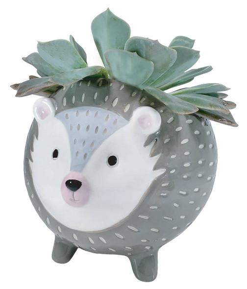 Hedgehog Ceramic Planter