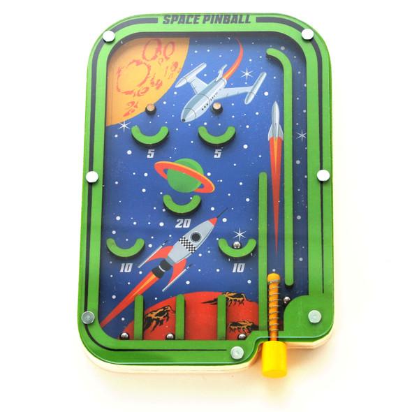 Space Pinball Game