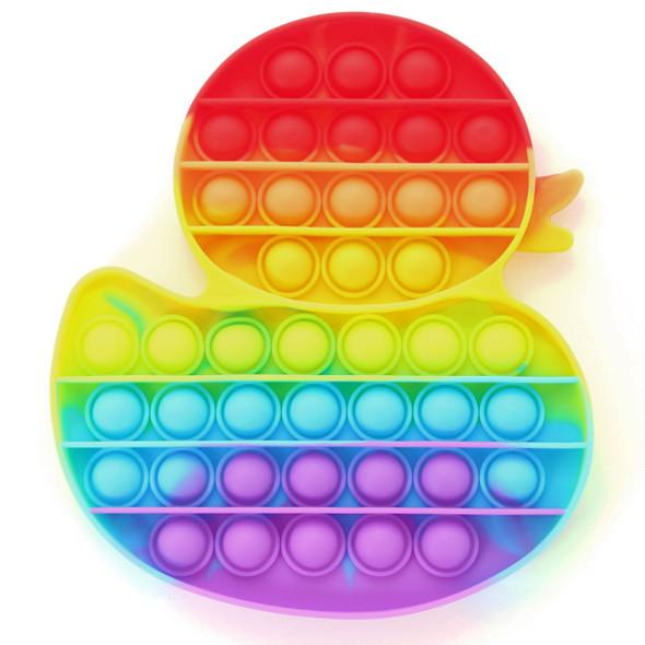 Pop It Rainbow Duck Fidget