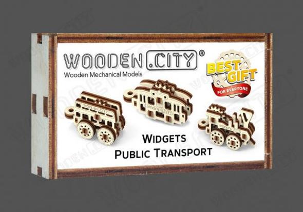 Wooden City Public Transport Widgets