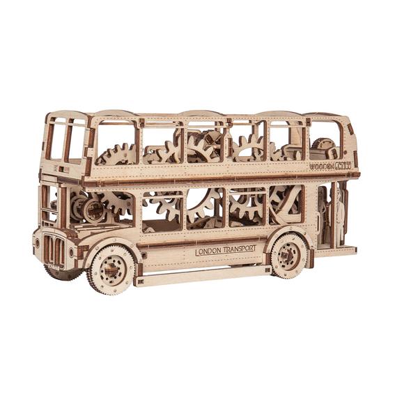 Wooden City London Bus