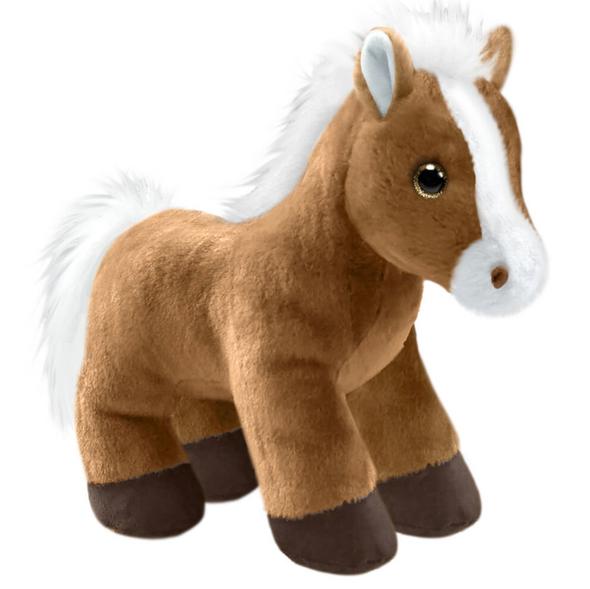Plush Brandy Pony