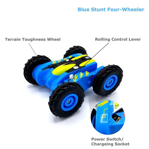 Hyper Runner Stunt RC Car - Blue