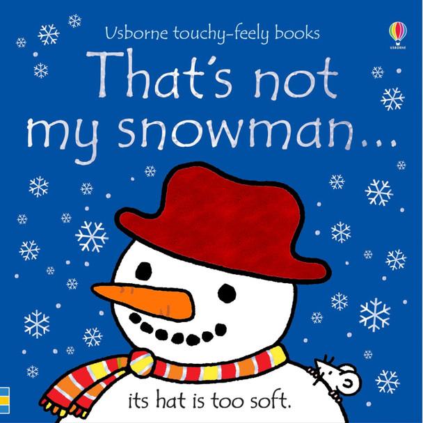 That's Not My Snowman Texture Book