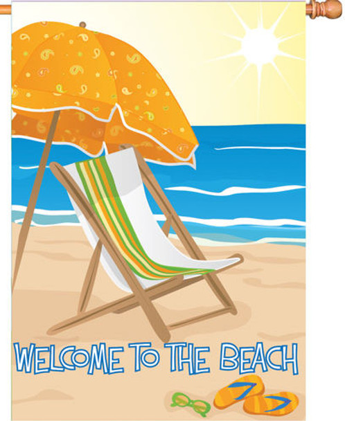 Welcome to the Beach House Banner