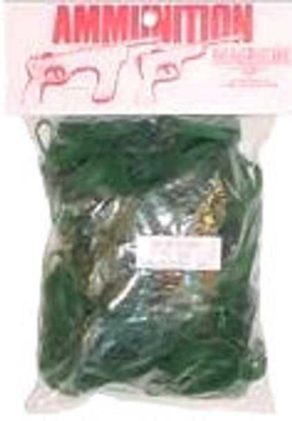 Green Ammo for Rubber Band Guns- 4oz