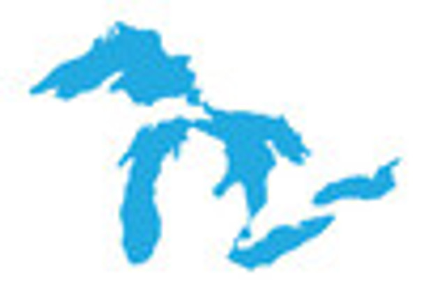 Extra Large Great Lakes Proud Sticker