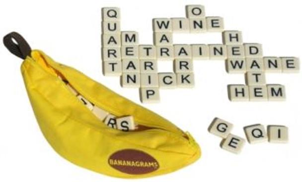 Bananagrams Tile Game