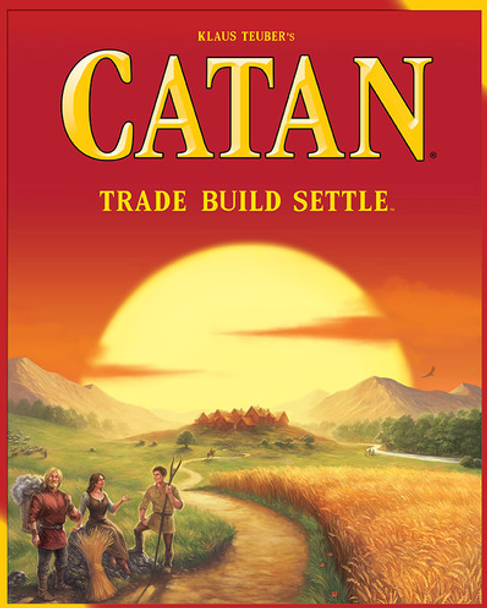 The Settlers of Catan Game - 5th Edition