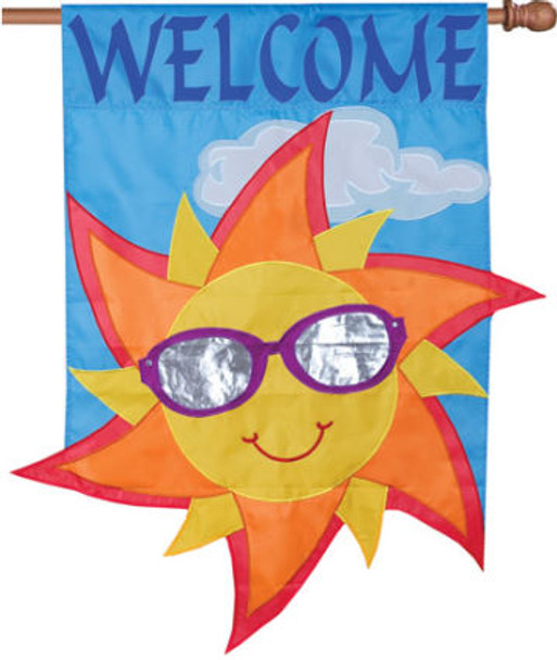 Welcome Sun House Banner