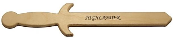 Highlander Wooden Sword / Dagger