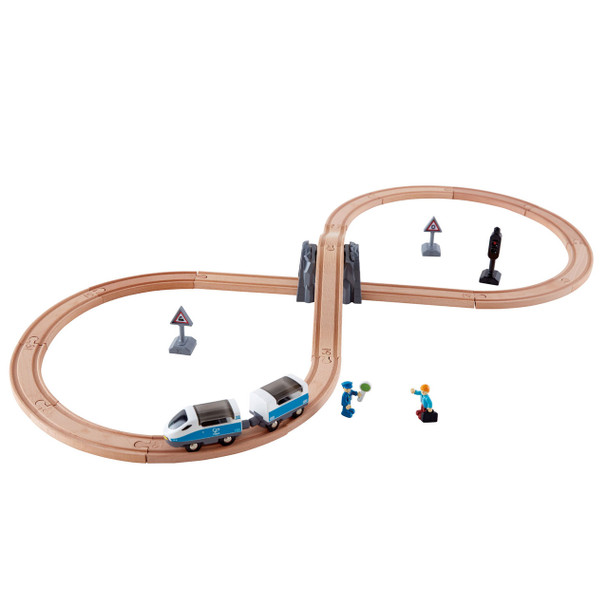 Hape Figure 8 Safety Train set