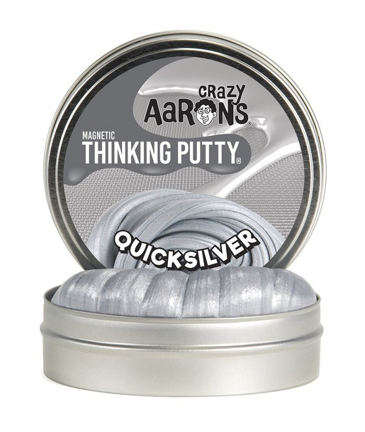 Quicksilver Magnetic Thinking Putty by Crazy Aaron's