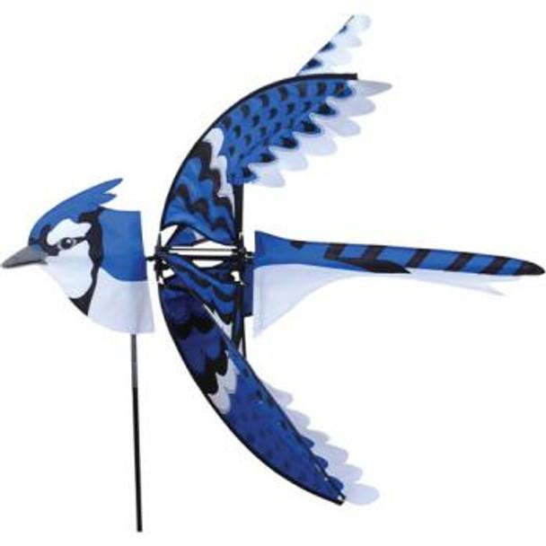 Flying Eastern Blue Jay Spinner