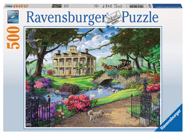 Visiting the Mansion 500pc Puzzle - Box