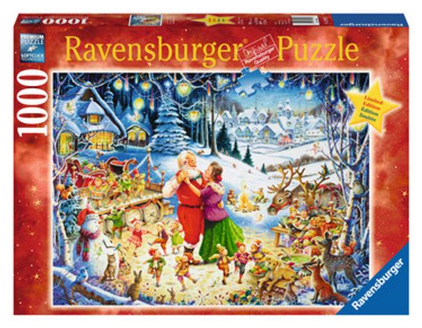 Santa's Christmas Party 1000pc Puzzle - Box