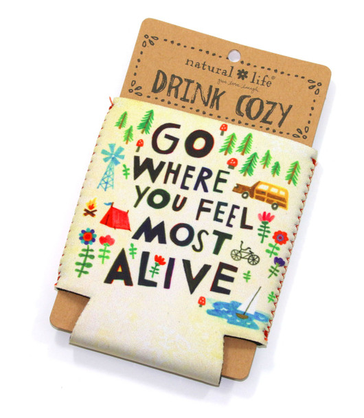 Feel Most Alive Drink Cozy