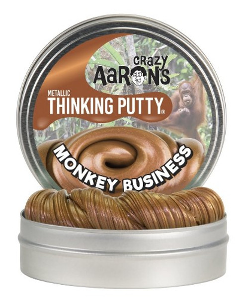 Quit monkeying around and get the putty, or I'll simply go bananas!