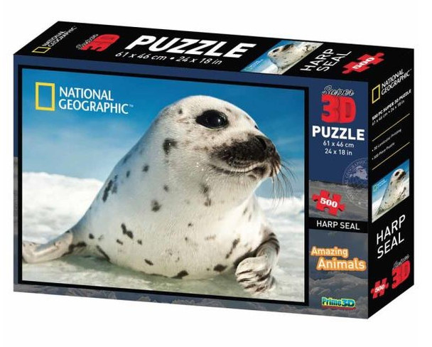 National Geographic 3D Seal Puzzle