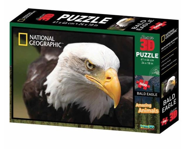 National Geographic 3D Bald Eagle Puzzle